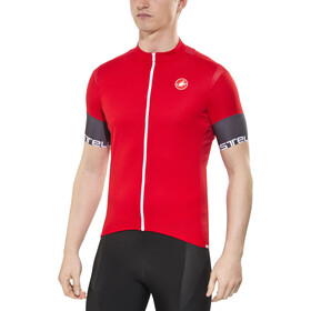 Castelli Entrata 2 Jersey FZ Men red